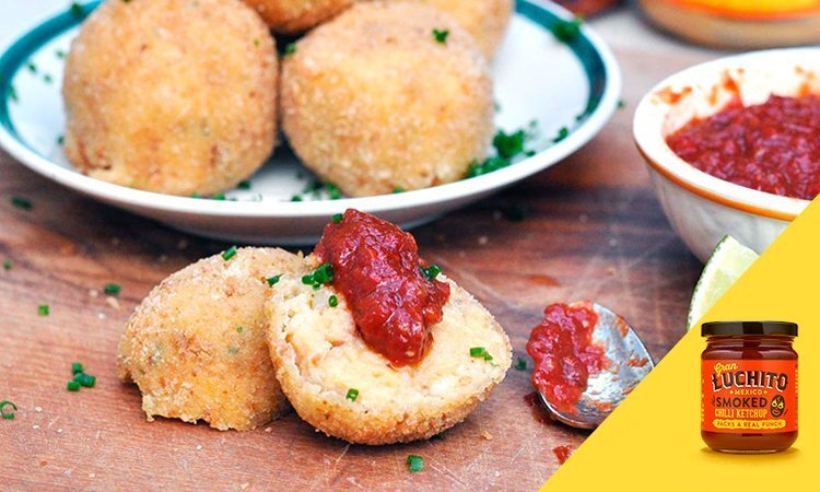 Potato And Chorizo Croquettes