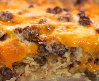 Christmas Morning Breakfast Casserole - just doesn't get any better!