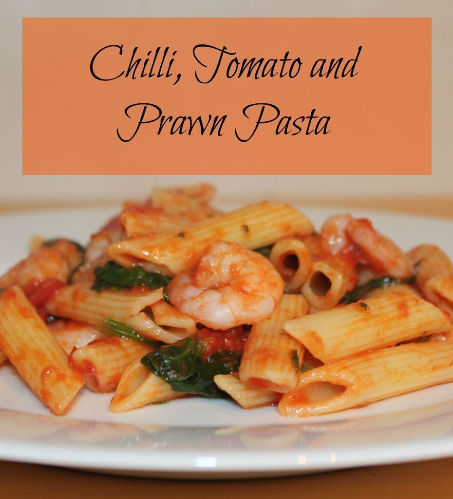Chilli, Tomato and Prawn Pasta
