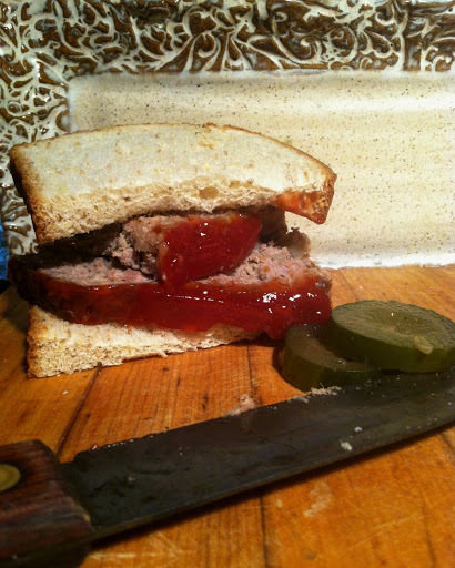 Meat Loaf Sandwiches - just about as plain and OMG delicious as your can get.
