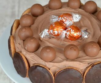 Chocolate Orange Birthday Cake