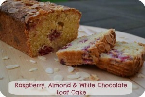Raspberry, Almond & White Chocolate Loaf Cake – Bake of the Week