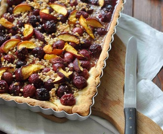 Kirsch Pfirsich Pie / Cherry Peach Pie