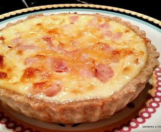 Quiche com Massa Integral
