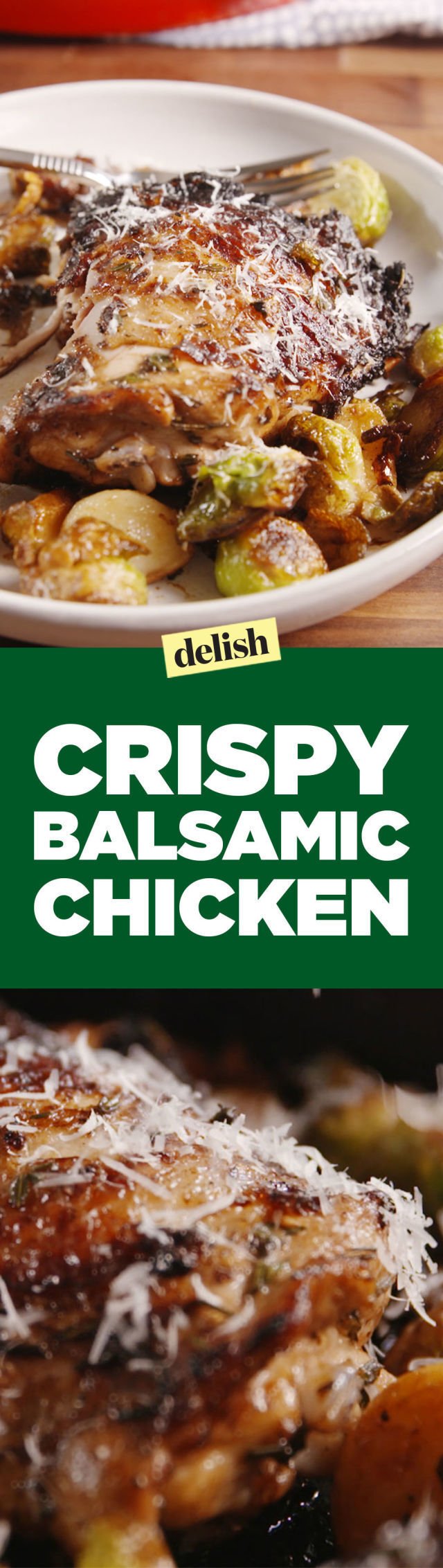 Crispy Balsamic Chicken