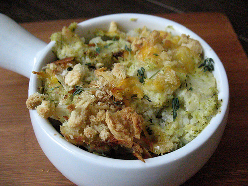Jamie Oliver's Broccoli Cauliflower Cheese