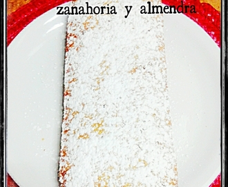 Bizcocho light de zanahorias y almendaras thermomix , Light carrot cake and almond thermomix
