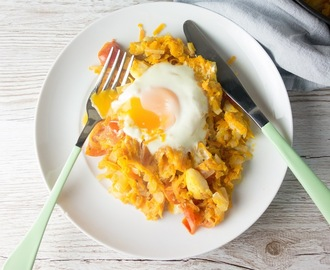 Smoked Haddock Sweet Potato Hash