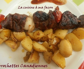 Brochettes Canadiennes