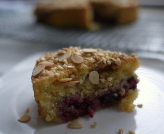 Nutty Blackberry and Apple Cake supporting Tea & Talk on World Mental Health Day