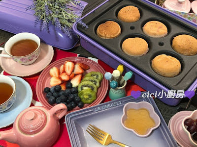 【Récolte Home BBQ 】食譜: [Hawaii Blueberry Acai pancake夏威夷藍莓班戟]
