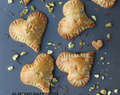 ALMOND AND SAFFRON VALENTINE PIES
