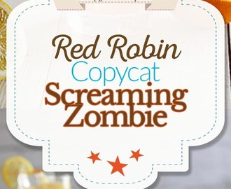 Red Robin Screaming Zombie Drink