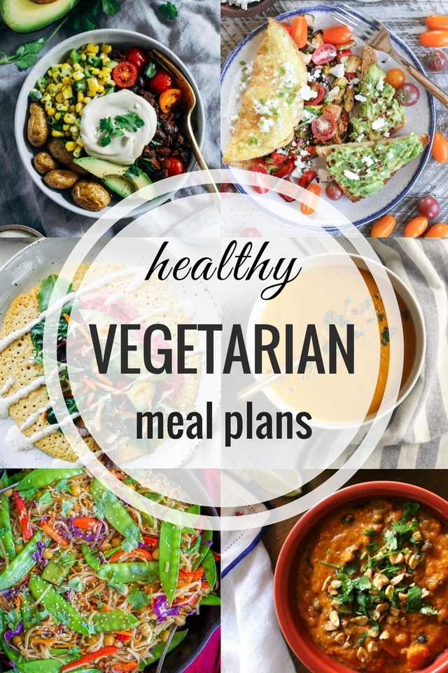 Healthy Vegetarian Meal Plans: Week 66