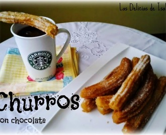 Churros (con chocolate)