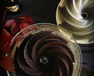 GUINNESS CHOCOLATE BUNDT CAKE - #BUNDTBAKERS