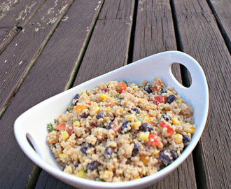 {MAKE IT} Hidden Valley Ranch Ranchify Challenge: Roasted Corn & Black Bean Quinoa Salad
