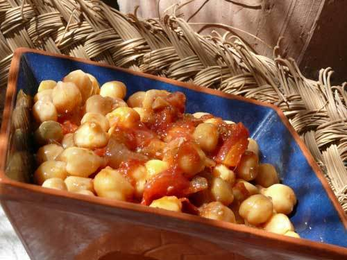 Chickpeas and Paprika