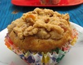 The Exotic Crumbled Banana Walnut Muffin