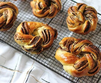 Brioches Tressées au Chocolat {Battle Food 40}
