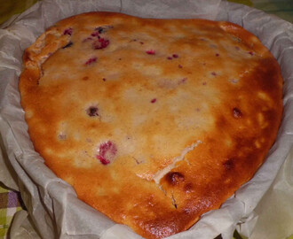 CUORE DI CHEESE CAKE AI FRUTTI DI BOSCO/HEART OF CHEESE CAKE WITH THE BERRIES