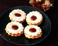 A Celebration on Love: Linzer Cookies (A Guest Post by Khadiza's Kitchen)