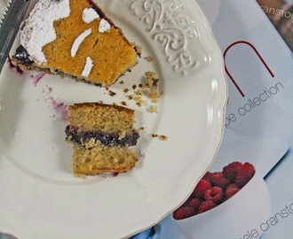 Torta con grano saraceno e marmellata ai frutti di bosco / Cake with buckwheat flour and wild fruits jam