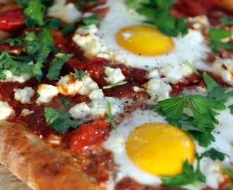 Shakshuka-pizza