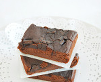 Brownie de Manzana Saludable