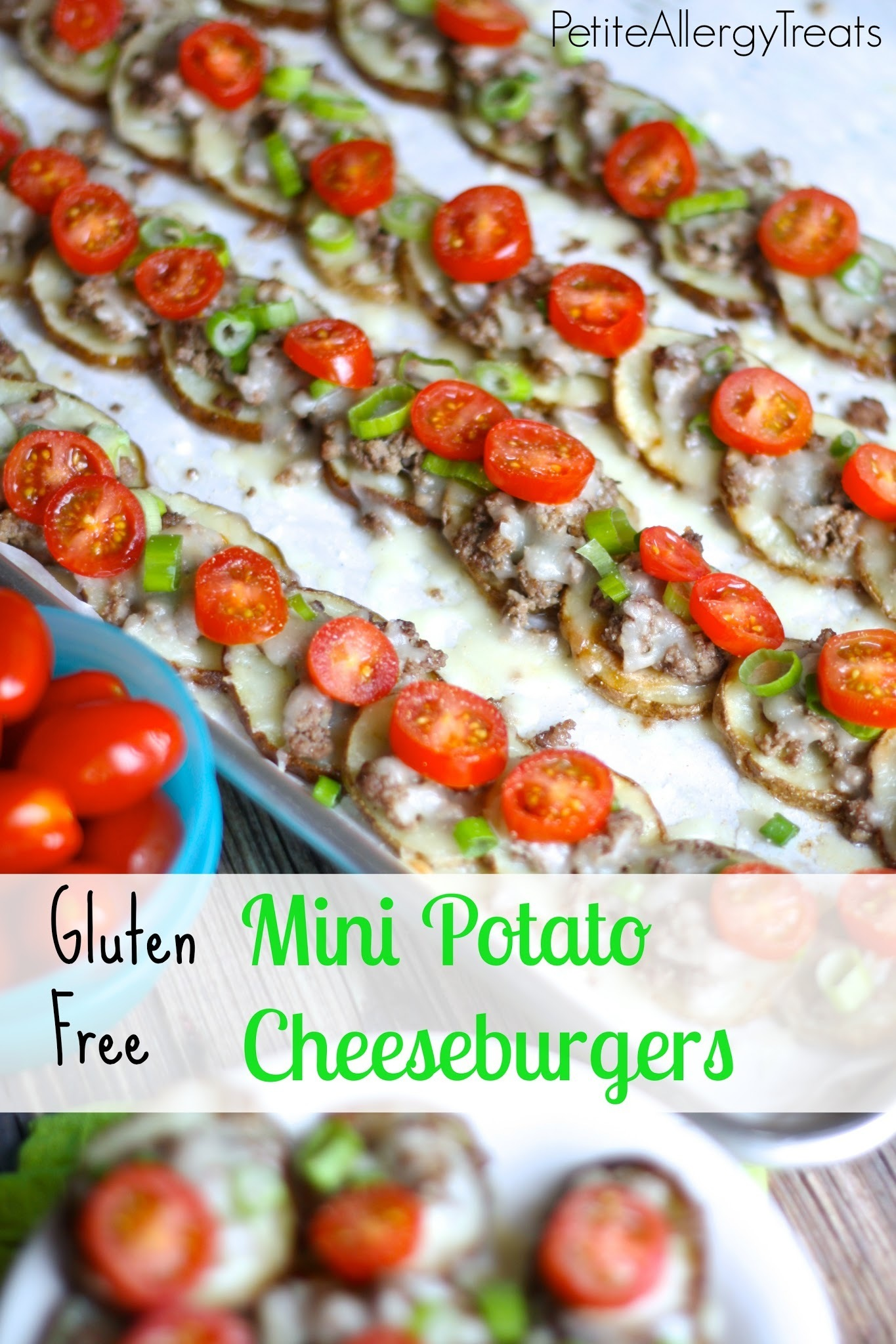 Gluten Free Potato Cheeseburgers & A Lesson in Food Allergies