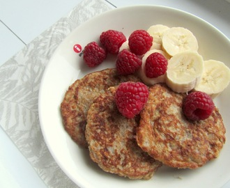 HEALTHY PANCAKES FOR BREAKFAST