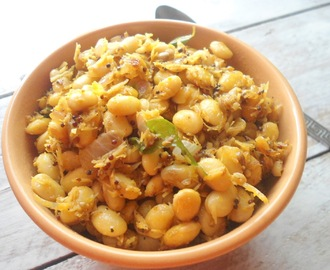Soya Beans Dry curry  | Healthy Recipe
