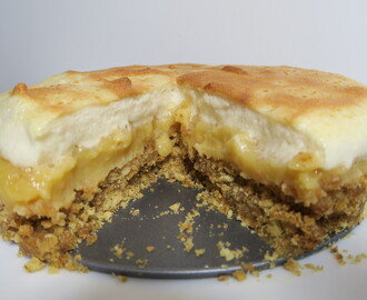 RECIPE: Gluten Free Lemon Meringue Pie with Biscuit Base & Dairy Free!