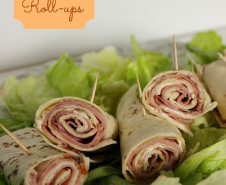 Ham & Cream Cheese Appetizer Roll-Ups