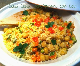 Cous Cous Vegetariano con Ceci