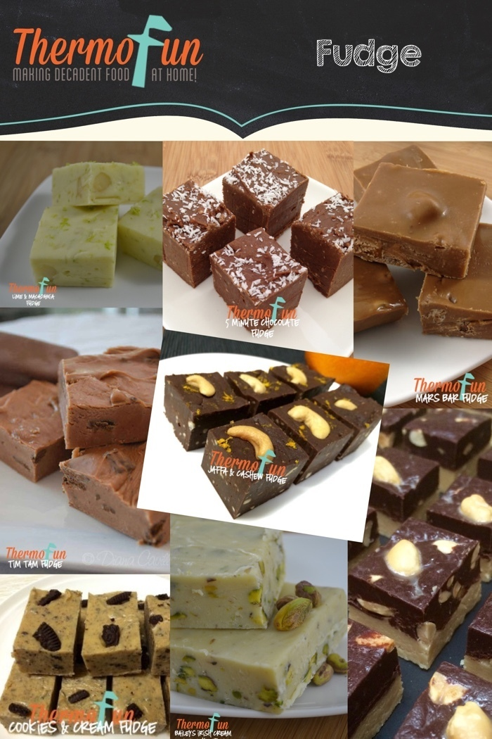 Fudge Recipes on ThermoFun