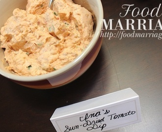 Sun-Dried Tomato Dip Recipe
