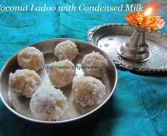 Coconut Laddoo with Condensed Milk/Coconut Balls Recipe with Milkmaid/Coconut Laddoo Recipe/Nariyal Ladoo/Thengaai Ladoo/Ladoo in less than 10 min – Diwali Special Sweet