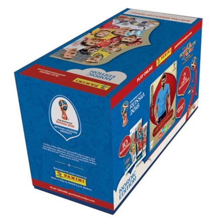Fotbollsbilder Fotbollskort - 1st Giftbox - Nordic Edition Panini Adrenalyn XL World Cup 2018