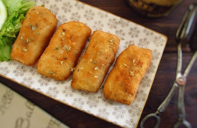 Breaded fish loins | Food From Portugal