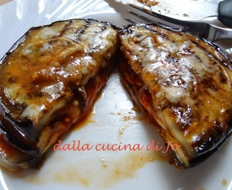 Parmigiana di melanzane light e in padella