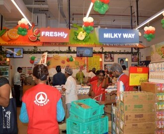 SPAR HYPERMARKET OPENS ITS NEW STORE IN RMZ GALLERIA MALL, BANGALORE