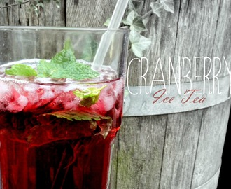 {recipe} Cranberry Ice Tea
