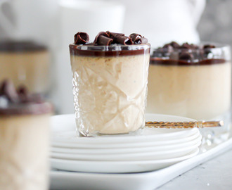 Snickerspannacotta