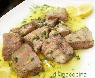 Recetas de de lomo de atun congelado mytaste - Cocinar atun congelado ...
