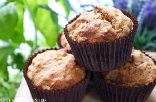 Clean Eating Apple & Raisin Muffins