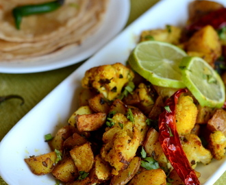 ALOO GOBI | CURRY IN 15 MIN