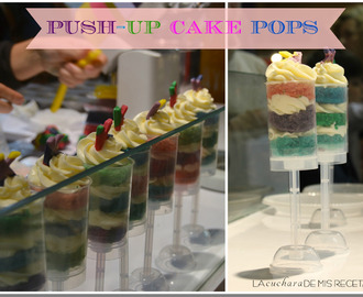 Push up cake pops. Kenwood: Demo en BCN&cake