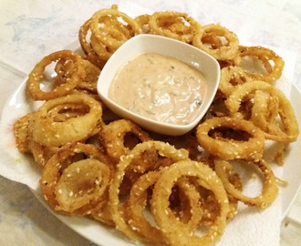 Onion rings...prženi luk