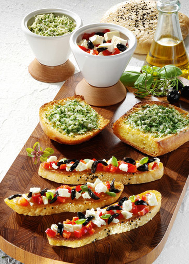 Snacks & Fingerfood: Bruschetta rusticale